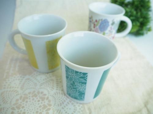 オリジナル九谷焼 マグカップ デジタル印刷
