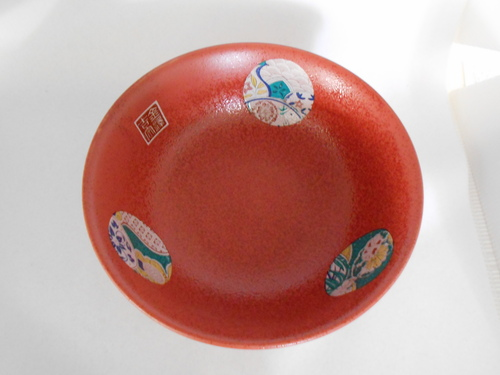 オリジナル九谷焼どんぶり 麗和柄