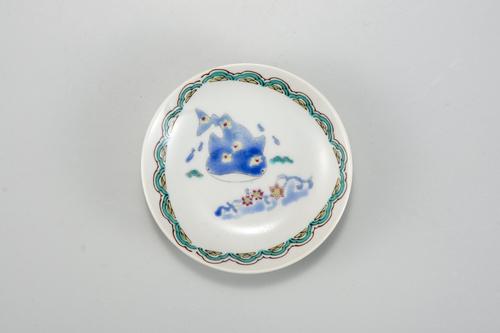 九谷焼アニマル小皿 3寸皿(100mm)