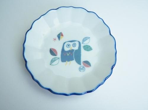 オリジナル九谷焼豆皿 デジタル印刷