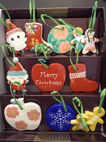 九谷焼クリスマスオーナメント