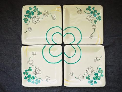 オリジナル九谷焼 変形皿