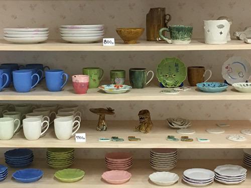 陶芸体験室