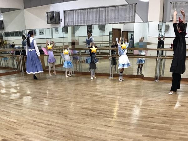 ハロウィーン★仮装でレッスン