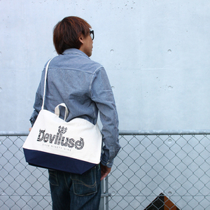 Deviluse x ExtraIssue     別注トートバッグ2
