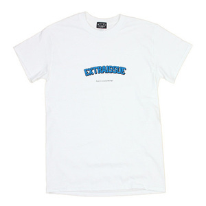 EXTRAISSUE ロゴTシャツ fun is everithing!