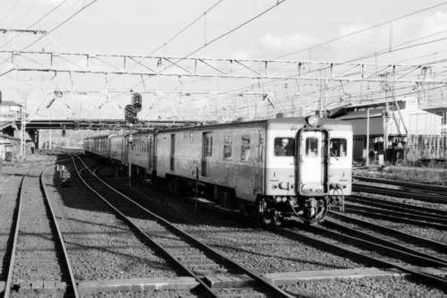 地上駅だった頃の姫路駅