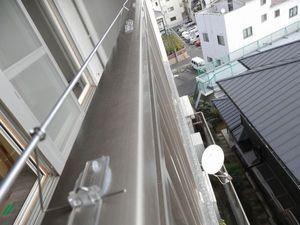 神戸市中央区北野のマンション 防除工事