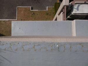 神戸市北区のマンションでハト防除工事