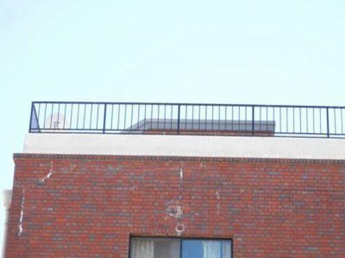 神戸市中央区マンションのハト防除工事