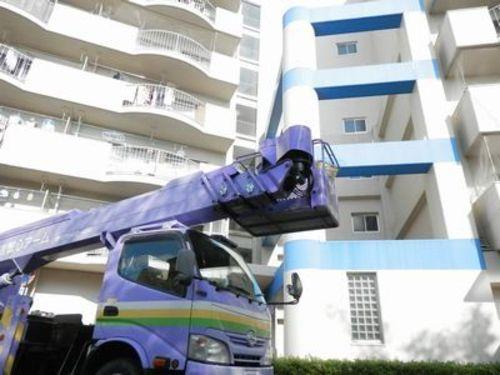 神戸市長田区のマンションのハト対策工事