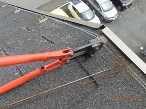 明石市内にある会社の寮の修理工事です。