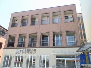 加古川市内のクリニックでのはと対策工事です。