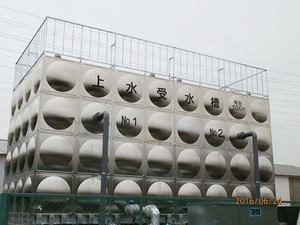 播磨町の会社工場の鳥対策工事です。