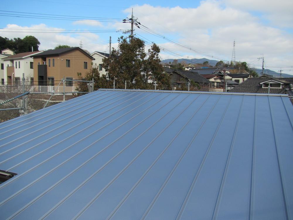 F様邸 太陽光パネル設置。