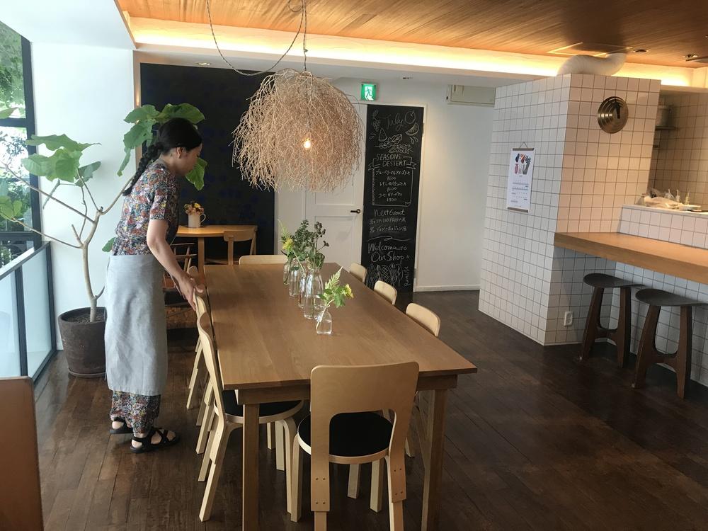 北欧を感じられるカフェ