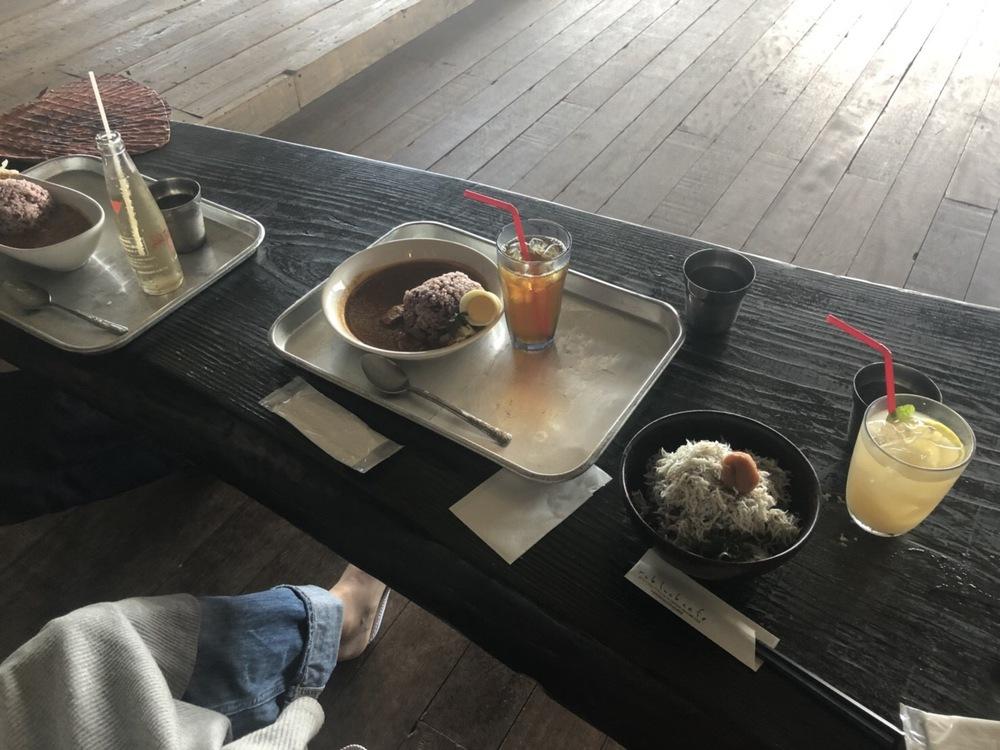 海沿いカフェ