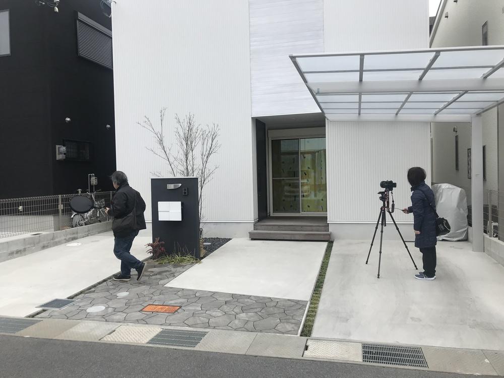 外壁の撮影📷