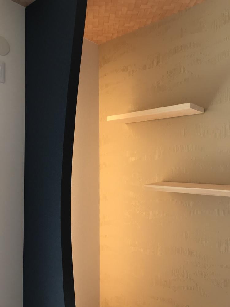 間接照明を活かす空間✨