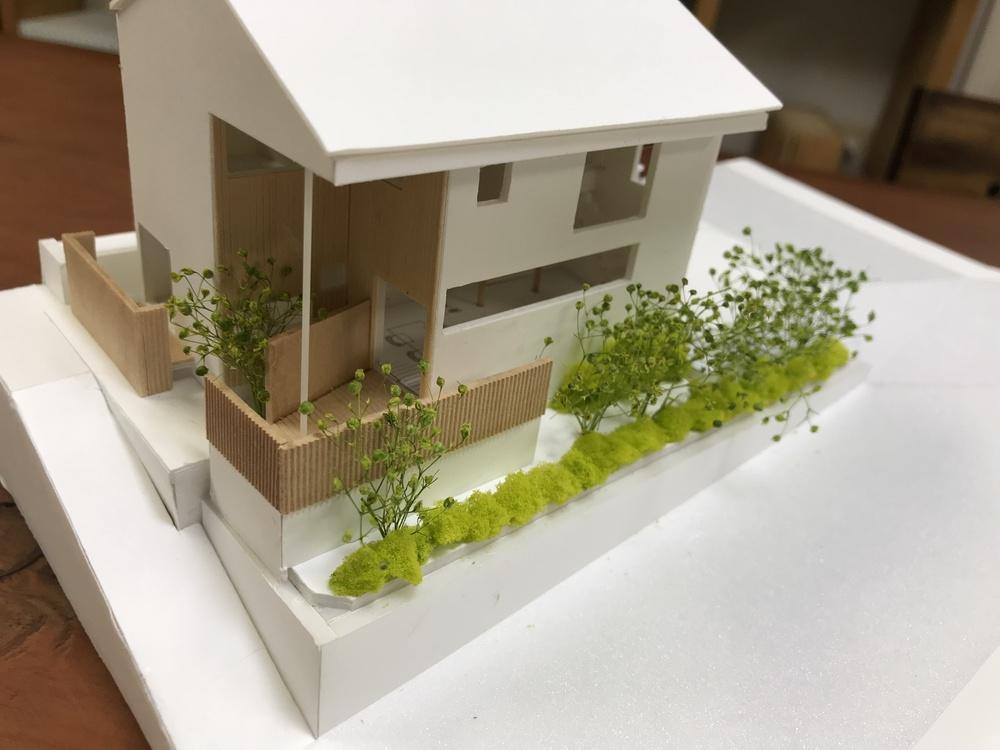 建築家の先生と打ち合せ(H様邸)