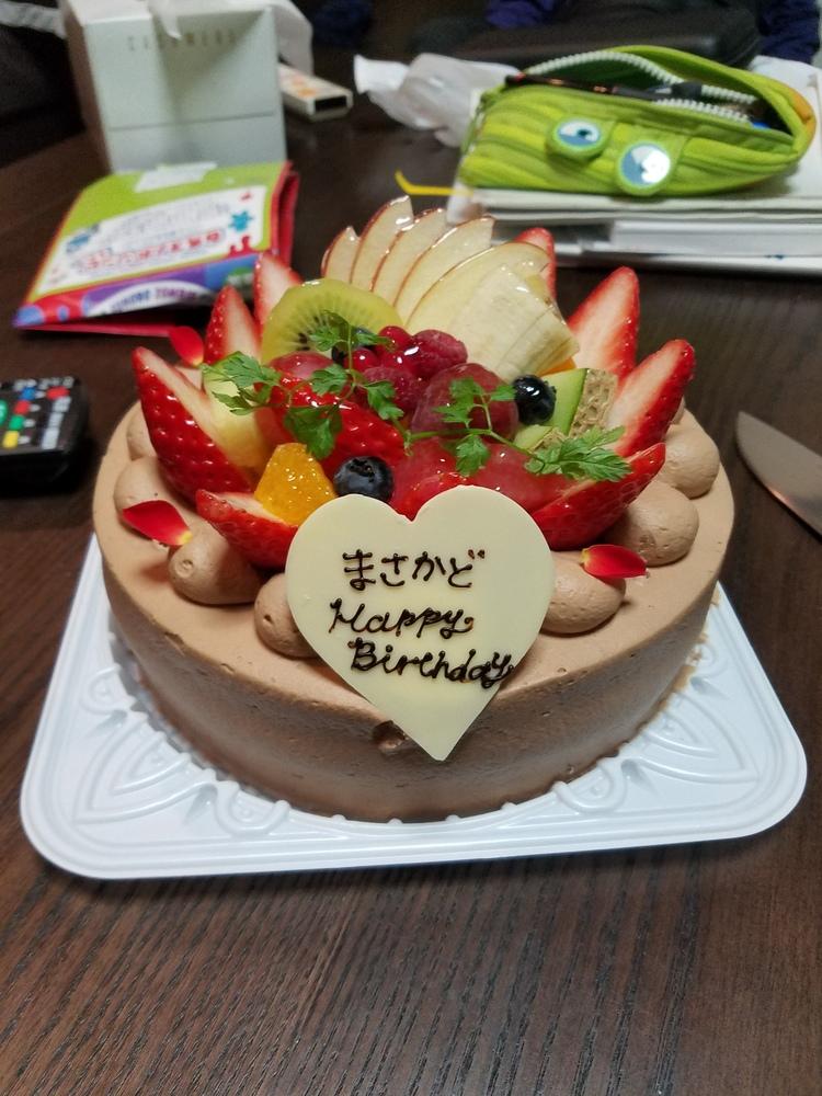 私の誕生日パーティー