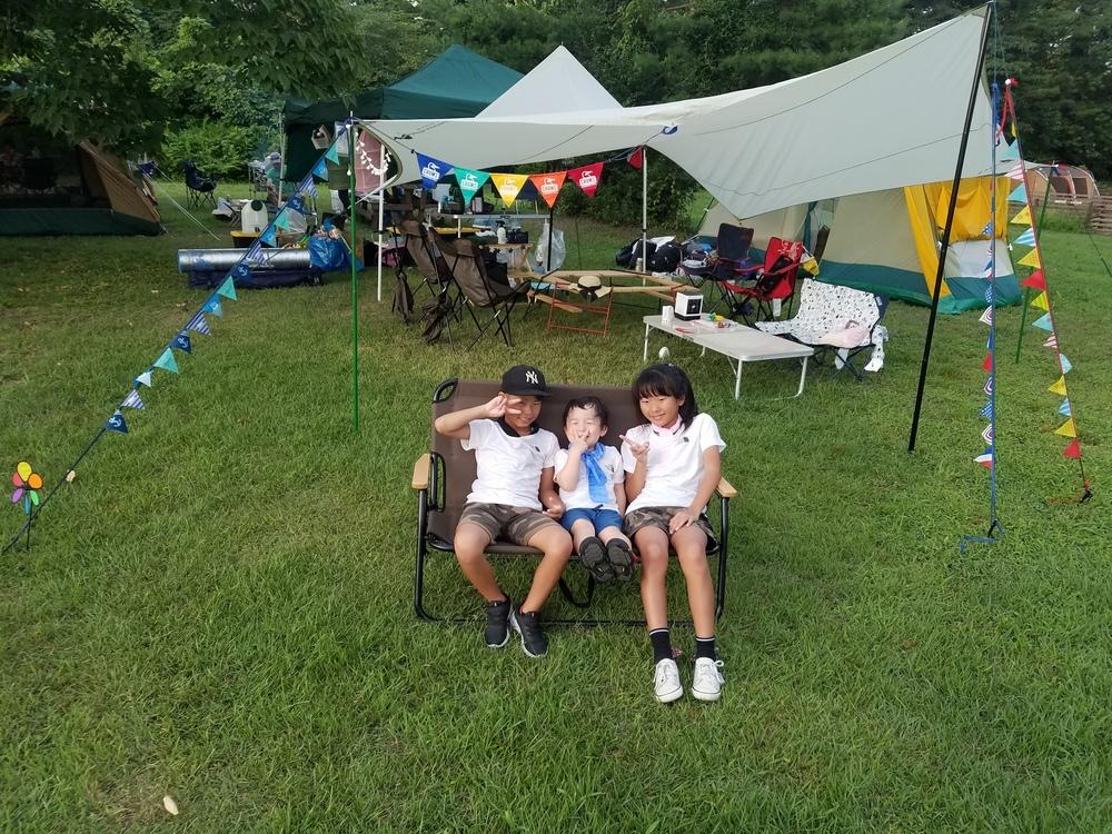 盆休み夏キャンプ