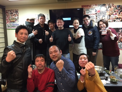 木鶏塾ちゃんこ鍋新年会でした!