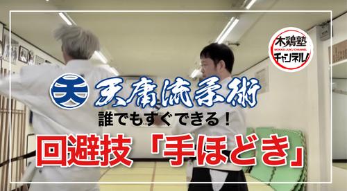 ●木鶏塾チャンネル!誰でもすぐできる回避技「手ほどき」