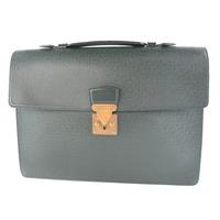 【宅配買取】ルイ・ヴィトン セルヴィエット・クラド M30074 タイガ エセピア ビジネスバッグ
