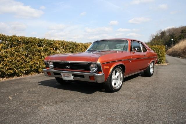 1971y Chevrolet Nova