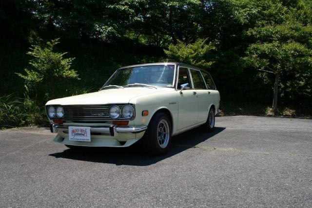 1971y Datsun 510 Wagon