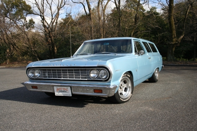 1964y Chevrolet Chevelle 2Dr Wagon