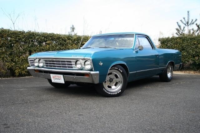 1967y Chevrolet El-Camino