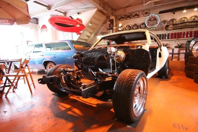 1968y Chevrolet Camaro