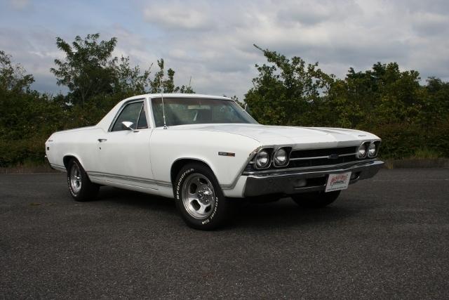 1969y Chevrolet El-Camino