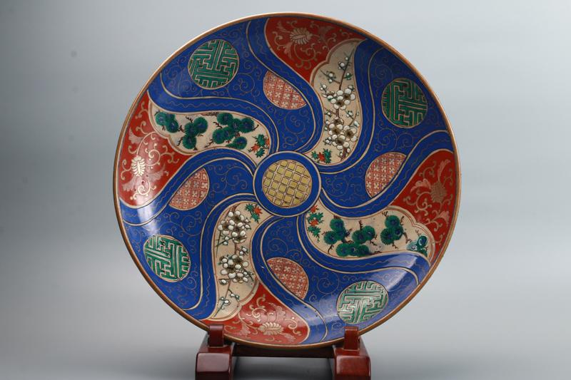 九谷焼 大皿