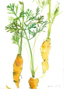 野菜たちのスケッチ展