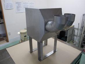 【ファイバーレーザーで多面加工部も歪みなく溶接】SUS303・SUS304製・産業機械向け装置フレーム品