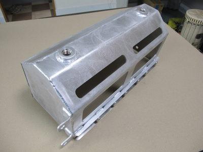 【トルンプの高出力加工機でアルミ中厚板をきれいに切断】産業機械の装置カバー