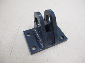 【完品溶接で仕上げの機械加工不要・加工工程短縮】建設機械の軸受ブラケット