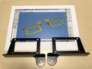 【3Dデータから図面の制作・加工まで一貫対応】自動車用カバーブラケット