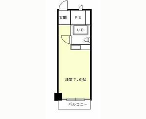 メゾン第3新大阪 4階部分