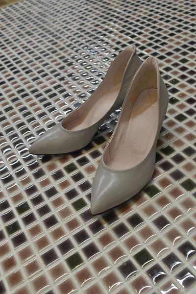 【MANA (靴)】パンプス(571197)新色GY