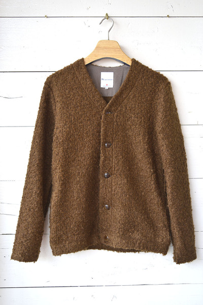 【Re Made in Tokyo Japan (Men's) (トップス、ボトムス)】Wool Ring Small V Cardigan