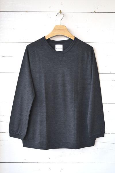 【Re Made in Tokyo Japan (Men's) (トップス、ボトムス)】Merino Wool Knit Crew Neck