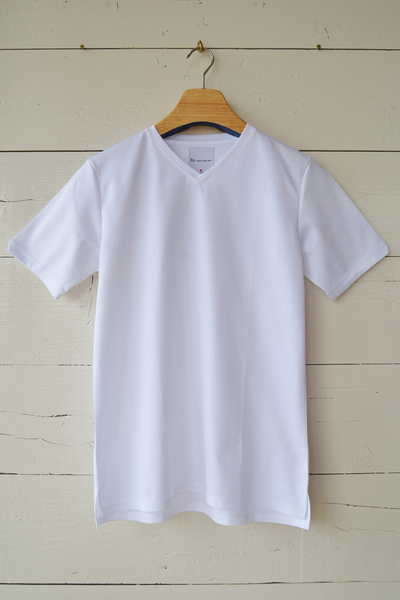 【Re Made in Tokyo Japan (Men's)(トップス、ボトムス)】Tokyo Made Dress T-shirt V-neck