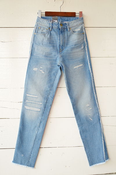 【G-STAR (Lady's)(トップス、ボトムス)】3301 Ripped Mid Boyfriend Jeans