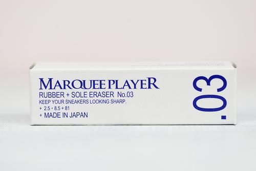【メンテナンス用品】RUBBER+SOLE ERASER No.03 (スニーカー用汚れ落とし イレイザー (ラバー素材部及びソール))