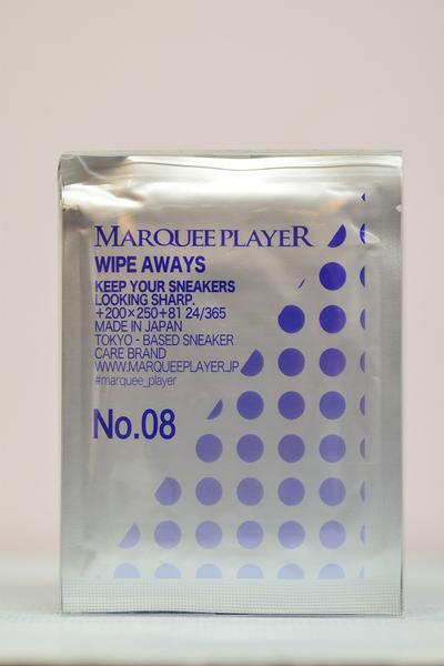【メンテナンス用品】WIPE AWAYS No.08 (スニーカー洗浄ウエットシート(12枚set))