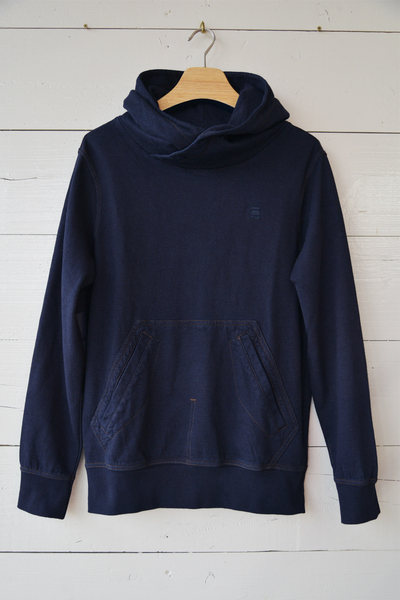 【G-STAR (Men's)(トップス、ボトムス)】Aero Patched On Pocket Hooded Sweater